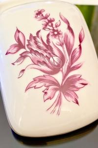 Hollóházi porcelán ékszer tartó