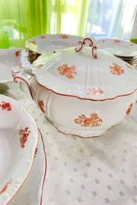 Zsolnay 6 személyes porcelán Étkészlet